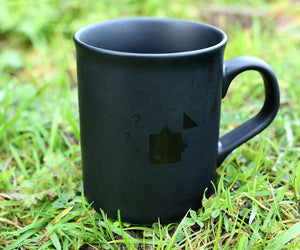 Thinking Anglers Black Mug