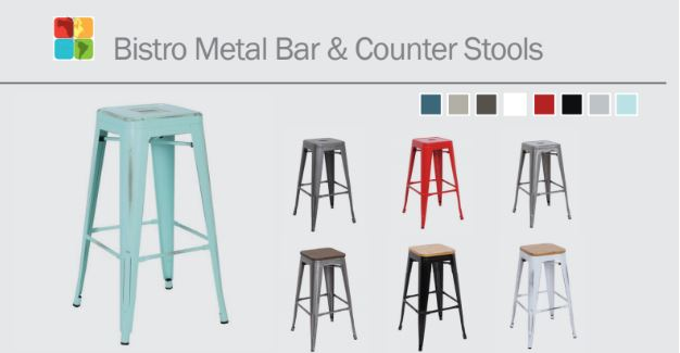 Bistro Metal & Counter Stools
