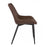 Bistro Style Leatherette Chair Dark Brown ( SKU: BIC-10-20100-01)