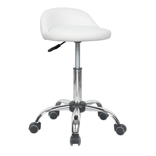 Agnes Swivel Adjustable Height Stool (White) - 1 Unit