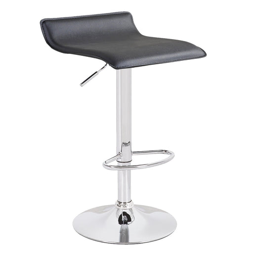 Miranda Swivel Adjustable Height Bar Stool (Black) - 1 Unit