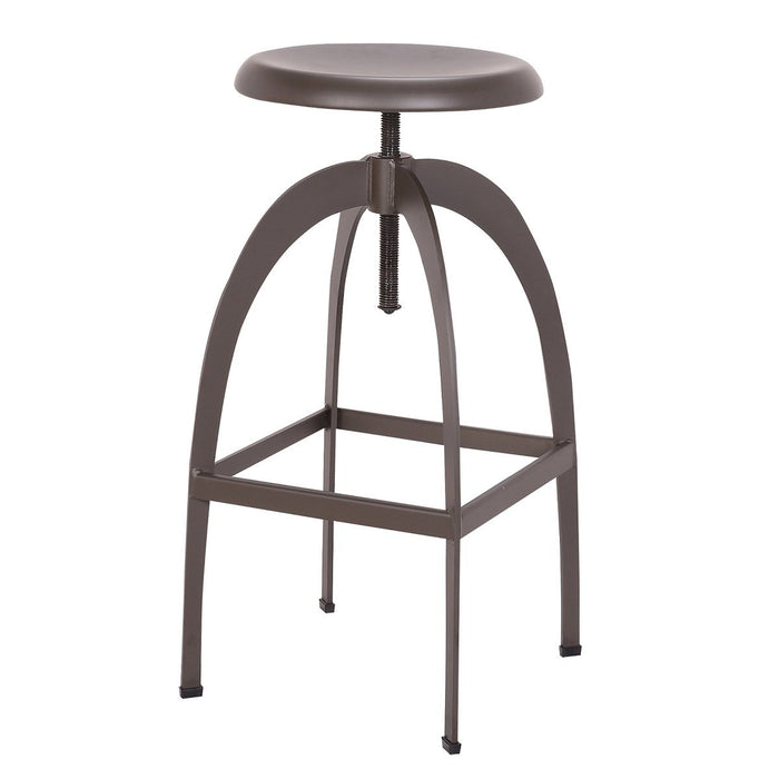 Preston Metal Swivel Adjustable Metal Bar Stool - 1 Unit
