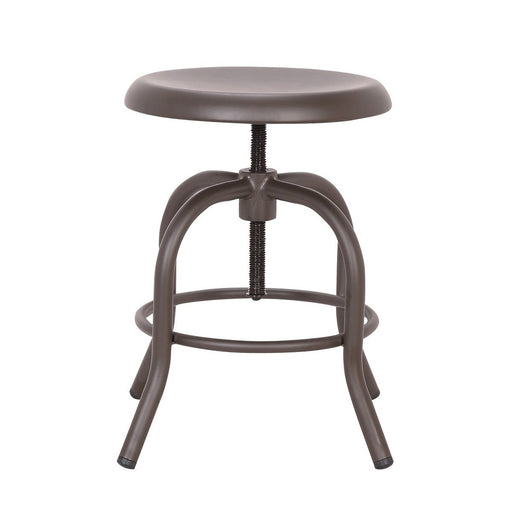 Koa Metal Swivel Adjustable Counter Stool  ( SKU: BIC-10-70419-50 )