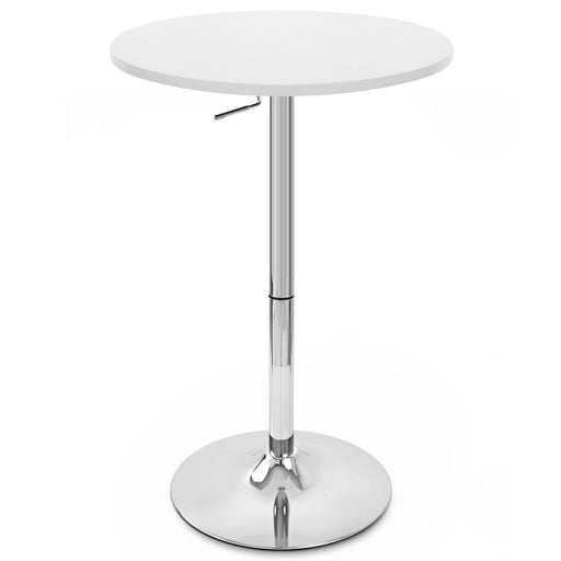 Crate Adjustable Height Pub Table White ( SKU : BIC-12-80400-White )