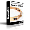 Brass/Nickel Recording Combo Tambourine