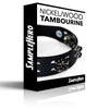 Nickel Jingles/Wood Hoop Tambourine