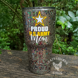 Army Mom Army Wife Custom Tumbler