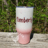 Chunky Mix Ombre Glitter Tumbler