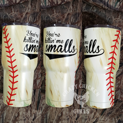 Dirty Baseball Tumbler