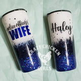 Police Officer's Wife Tumbler