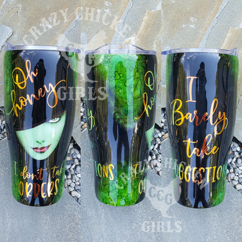 Wicked Witch Tumbler