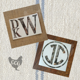 Monogram Car Decal