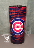Sports Team Marbled Tumbler