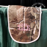 Camo Baby Bib or Burp Cloth