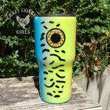 Fishing Lure Tumbler Hand Painted