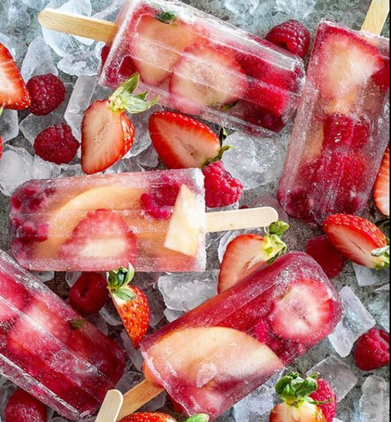 Strawberry-cider-ice-lollies