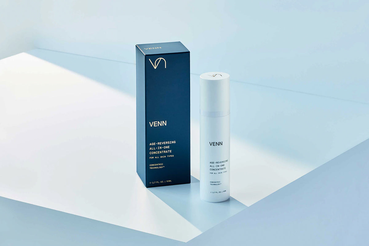 Branding for the Science-Based Skincare Line Highlights the Technology Behind the Product