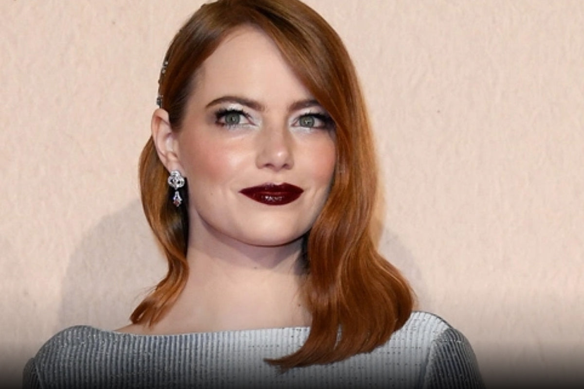Emma Stone Just Rocked The Most Perfect Sparkly Hair & Makeup Combo