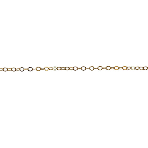 14k Gold Filled Ultra Thin Dainty Necklace - Opalini Jewelry