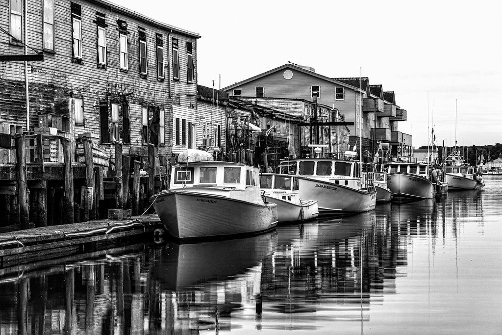 Boats in Black & White