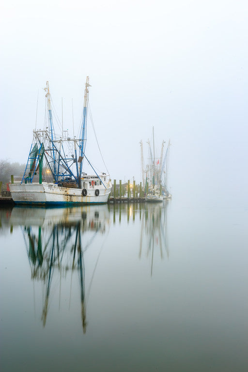 Foggy Shem Creek