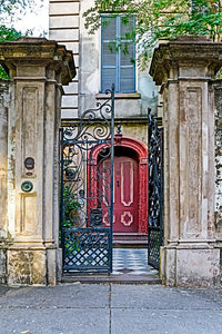 Legare Street Red Door