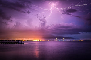 Lightning Over Charleston
