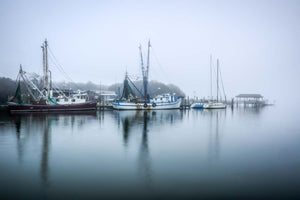 Foggy Shem Creek Morning