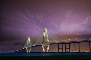 Lightning Over Ravenel Bridge