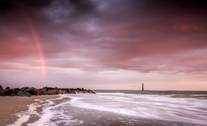 Rainbow Over Folly Beach