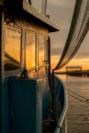 Shrimp Boat Reflections