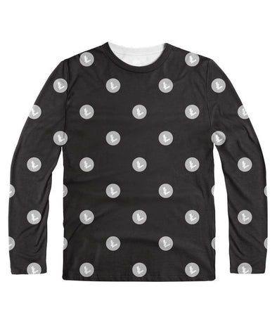 Litecoin Pattern Long Sleeve