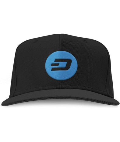 Dash Snapback Hat - Bitcoin, Ethereum & Crypto Merch