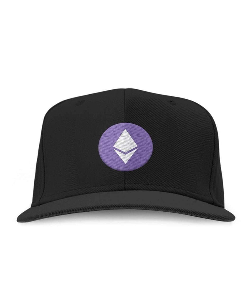 Ethereum Logo Embroidered Hat - Crypto Merchandise