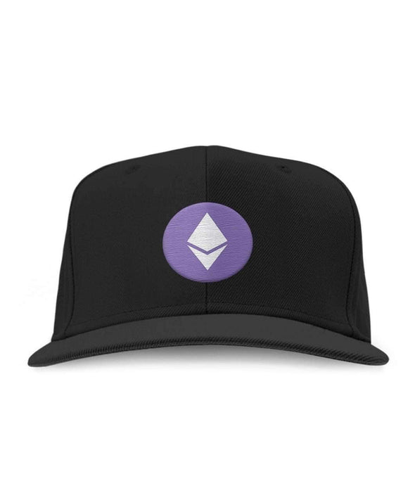 Ethereum Logo Embroidered Hat - Bitcoin, Ethereum & Crypto Merch