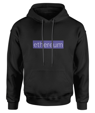 Ethereum Hoodie - Bitcoin, Ethereum & Crypto Merch