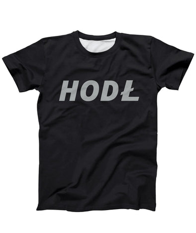 Litecoin HODL T-Shirt - Bitcoin, Ethereum & Crypto Merch