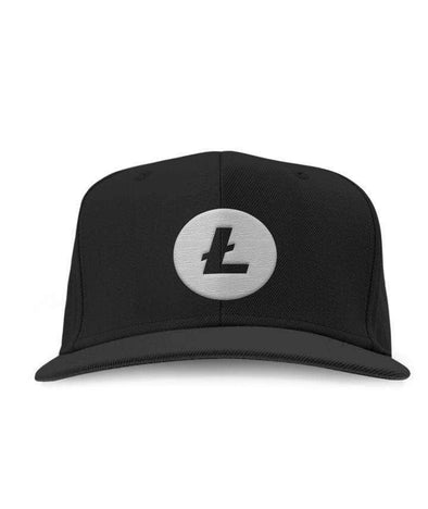 Litecoin Embroidered Hat - Bitcoin, Ethereum & Crypto Merch