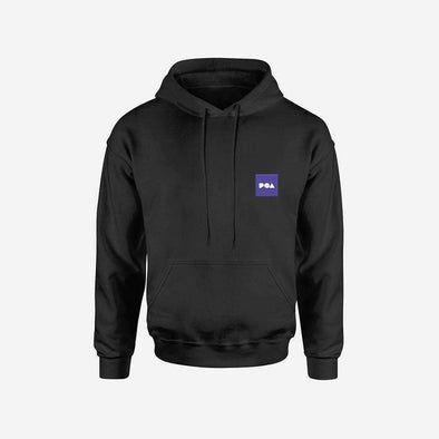 POA Black Hoodie - Bitcoin, Ethereum & Crypto Merch