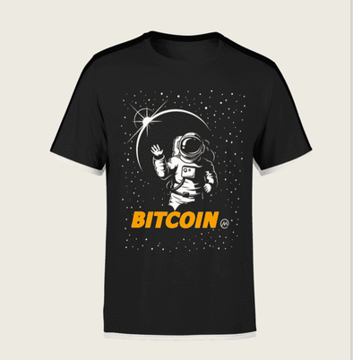 Bitcoin Moon T-Shirt - Bitcoin, Ethereum & Crypto Merch