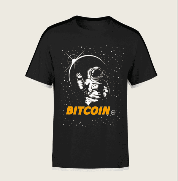 Bitcoin Moon T-Shirt - Crypto Merchandise