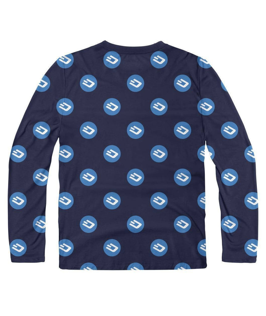 Dash Pattern Long Sleeve - Crypto Merchandise