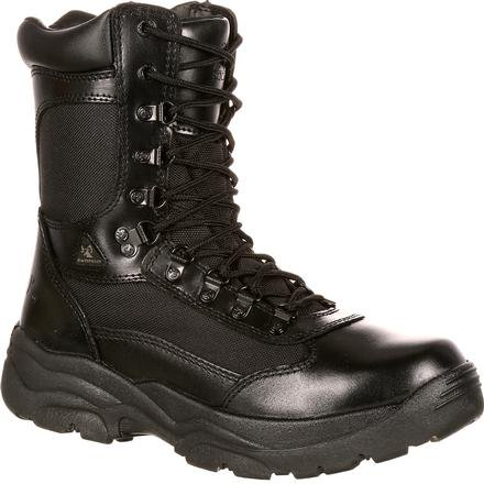 Rocky Ft. Hood Waterproof Zipper Public Service Boot