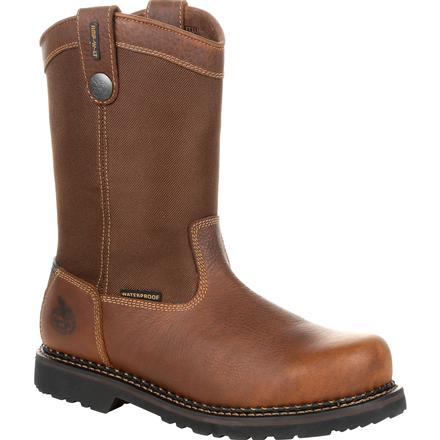 Georgia Giant ReVamp EH Steel Toe Waterproof Pullon Work Boot GB00319