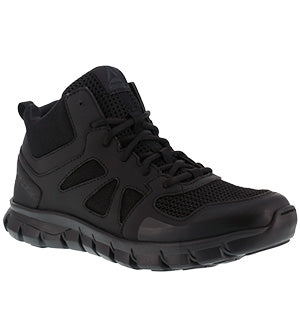 Reebok Tactical Mid High Black Public Service Boot RB8405