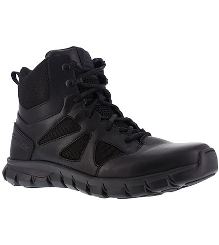 "Reebok Men's Sublite Cushion Tactical 6"" Side Zipper Duty Boot"