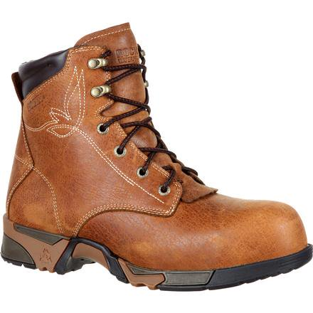 ROCKY AZTEC WOMEN'S COMPOSITE TOE WATERPROOF LACE-UP WORK BOOT
