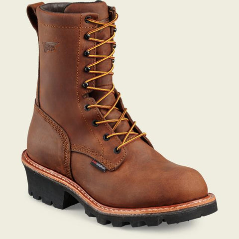 "Red Wing Men's LoggerMax 9"" Logger Lineman Boot"