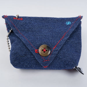 Dog Poop Bag Holder - Fabric with Gusset