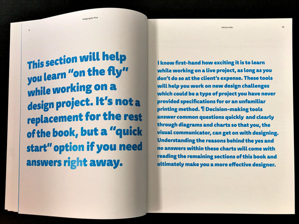 Designing for Print book